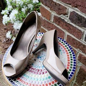 Bandolino Peep Toe Shoes